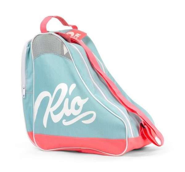 RIO511 Rio Roller Script Bag Teal Coral Rear.jpg