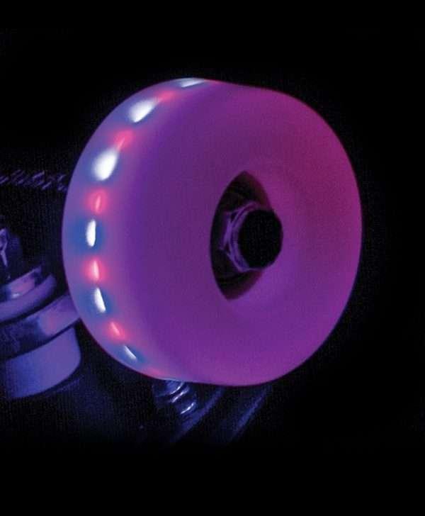RIO535 Rio Roller Light Up Wheels Pink Frost Detail.jpg